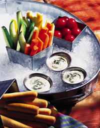 Creamy Dill Veggie Dip