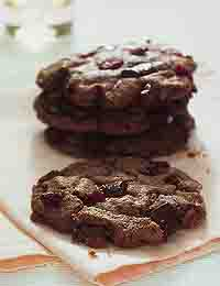 Double Chocolate Cranberry Chunkies