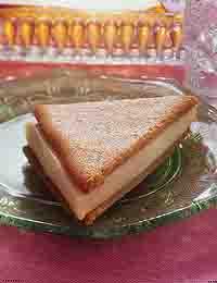 Peanut Butter Ice Cream Triangles