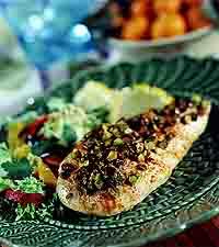 Spicy Pistachio Chicken