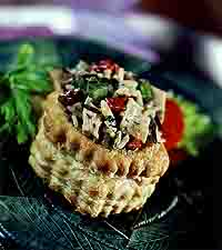 Chicken and Rice Puff