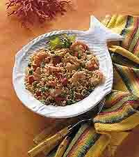 Caribbean Shrimp with Rice