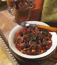 Mediterranean Meatball Ratatouille