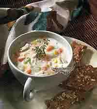 Potato-Crab Chowder
