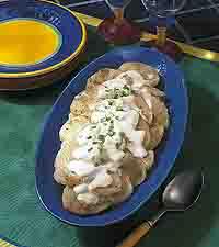 Swiss Cheese Scalloped Potatoes
