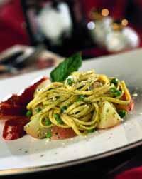 Pasta Pesto and Potatoes