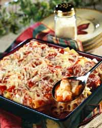 Baked Pasta with Ricotta