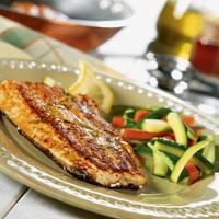 Skillet Fish with Lemon Tarragon