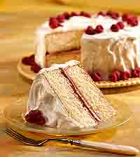 White Chocolate Lover's Layer Cake