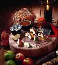 Caramel Apple Wedges