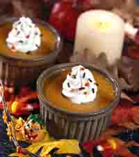 Gingered Pumpkin Custard