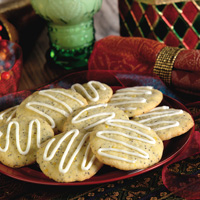 Hungarian Lemon Poppy Seed Cookies