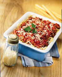 Cousin Arlene's Spaghetti Lasagna