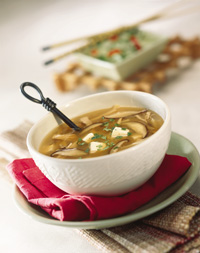 Simmering Hot & Sour Soup