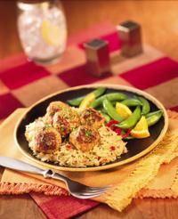 Pork Meatballs & Sauerkraut