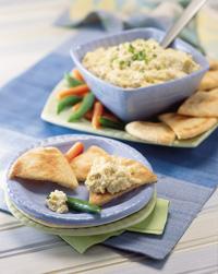 Creamy Artichoke-Parmesan Dip