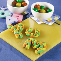 Almond Alphabet Cookies