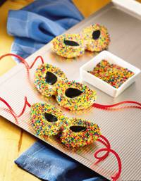 Masquerade Party Cookies