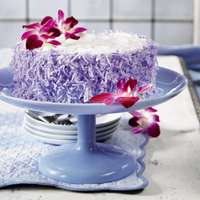 Coconut Mother's Day Cake