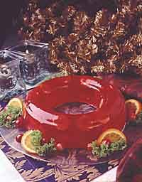 Festive Cranberry Mold