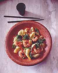 Shrimp and Pasta Toss
