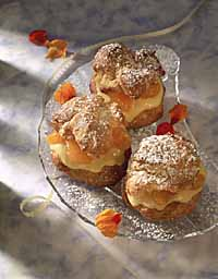 Dreamy Orange Cream Puffs