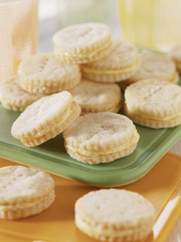 Mini Lemon Sandwich Cookies