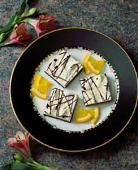 Citrus Cream Bars