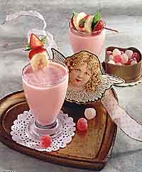 Valentine Smoothies
