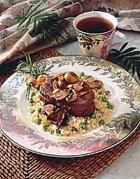 Steak Diane with Couscous
