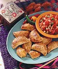Southwestern Chili Cheese Empanadas