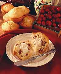 Cranberry Cheesecake Muffins