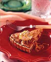 White Chocolate Cranberry Tart