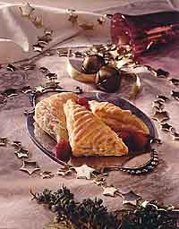 Peanut Maple Triangle Puffs