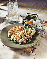 Orzo and Summer Squash Salad
