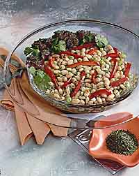 White Bean Salad with Cilantro Vinaigrette