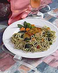 Chicken Primavera Buffet