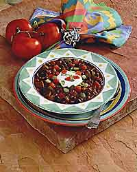 Steak and Black Bean Chili