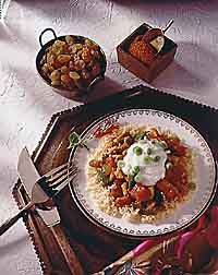 Indian Chicken with Couscous
