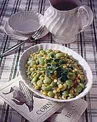 Easy Dilled Succotash