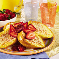 Strawberry Cinnamon French Toast