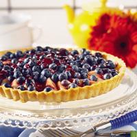 Blueberry-Pear Tart
