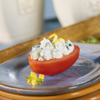 Feta-Stuffed Tomato