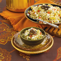 Mediterranean Orzo and Vegetable Pilaf