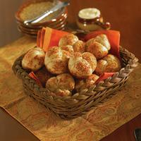 Parmesan-Pepper Cloverleaf Rolls