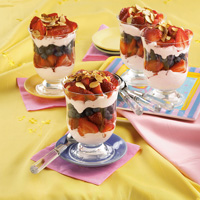 Very Berry Raspberry Yogurt Parfaits