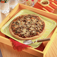 Family-Style Beef Pizza