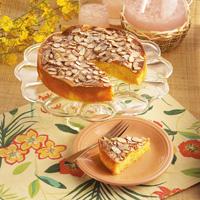 Pineapple Almond Coffee Cake
