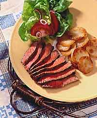 Red Wine Marinated Beef