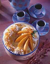 Mango-Orange Mousse